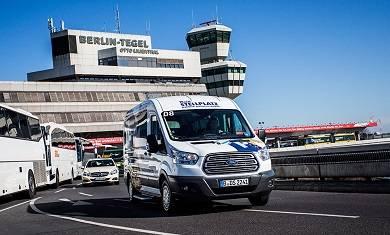 Parken am Flughafen Berlin